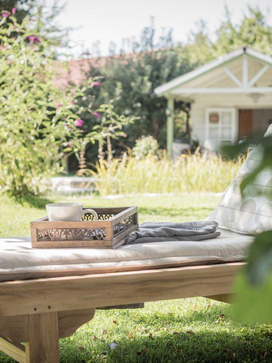 Home und living blogg Garten Einrichtung