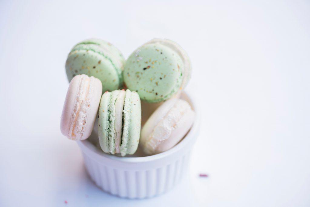 Der geschmack der Enttäuschung Zucker Süssstoff Macarons Stevia