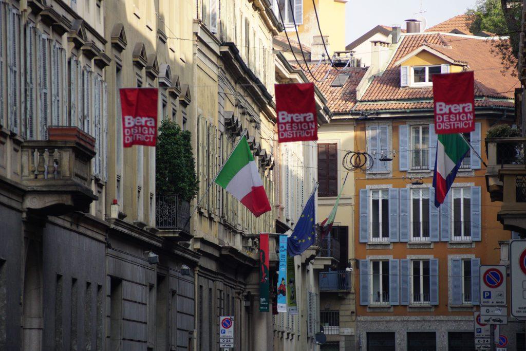 Brera - Milanos designerhjerte