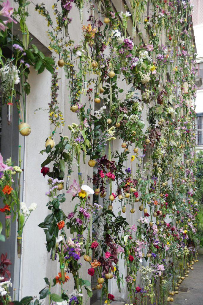 Kunst Design utendørs Brera Milano