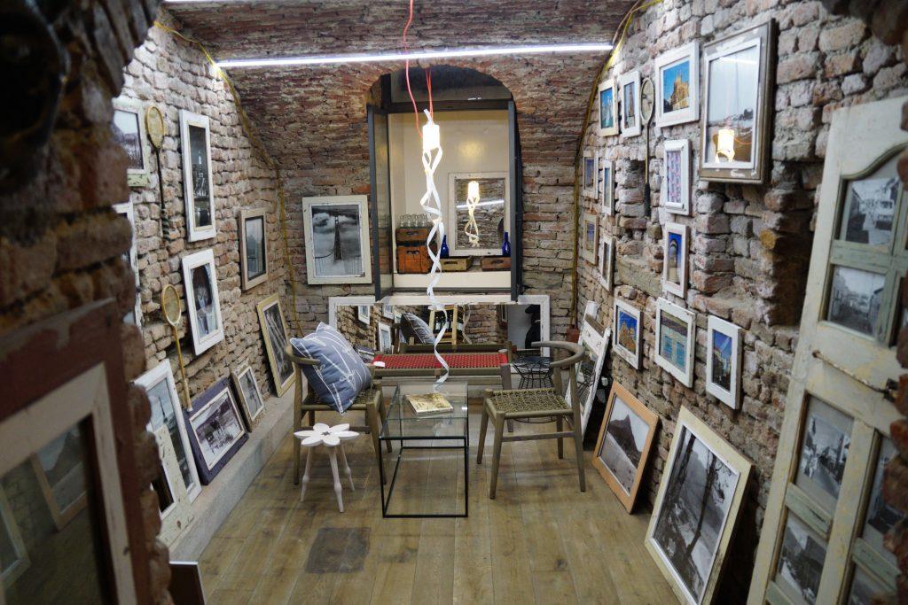Designerherz von Mailand Kunst Design Geschäft Laden Brera Mailand