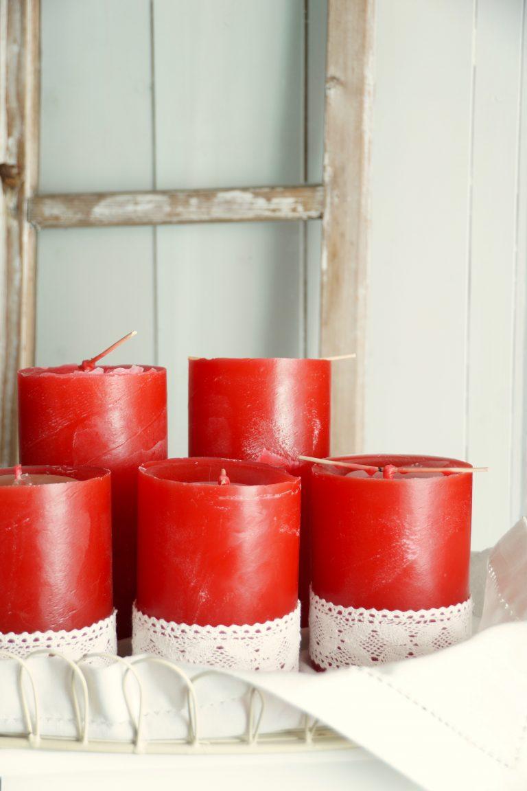 Kerzen selbstgemacht Ale Kerzen neue Chance