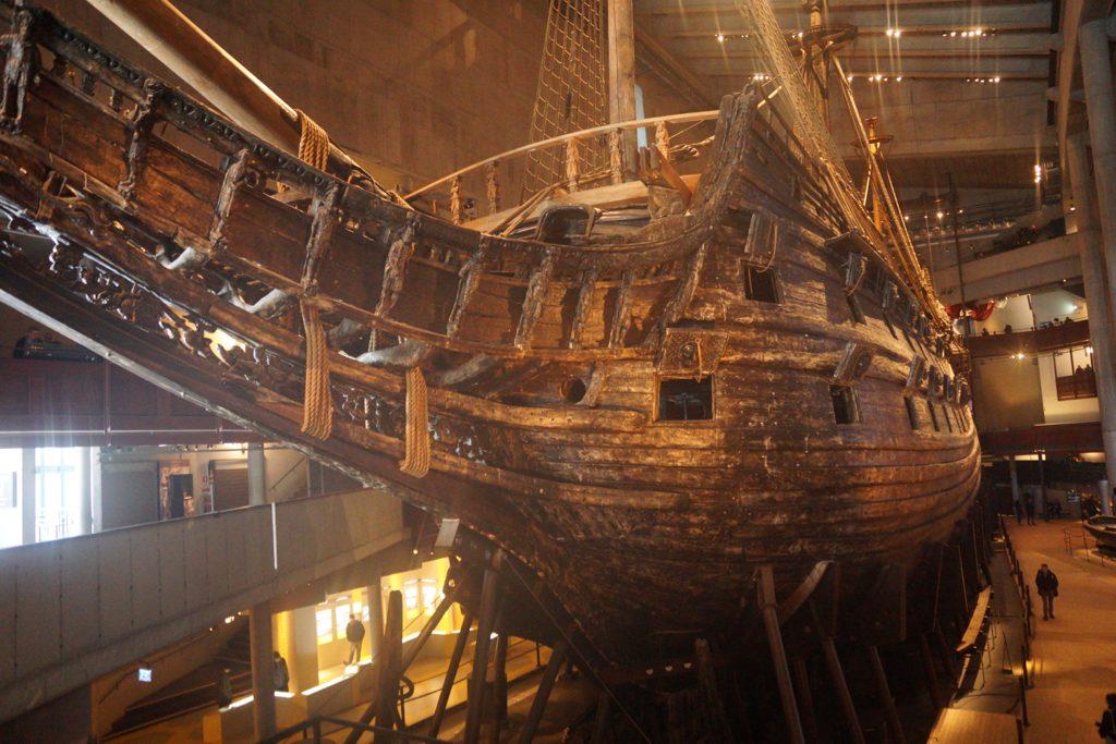 Vasa ship Stockholm Museum