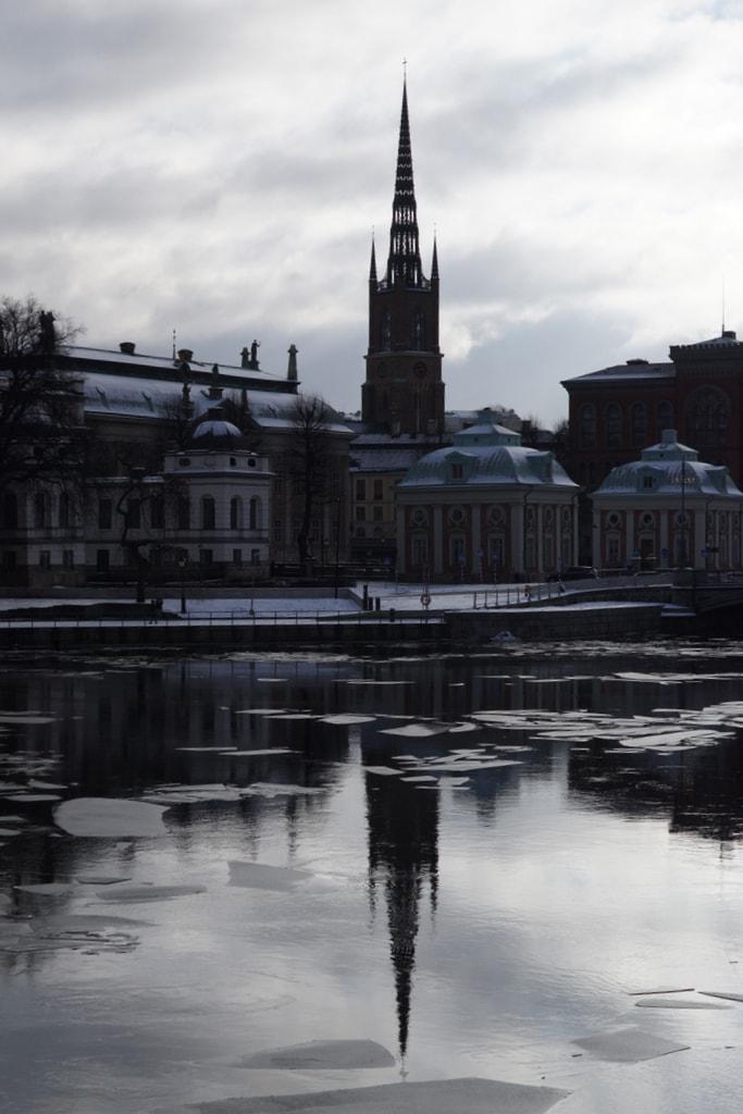 Krim nordic noir Winter im Stockholm