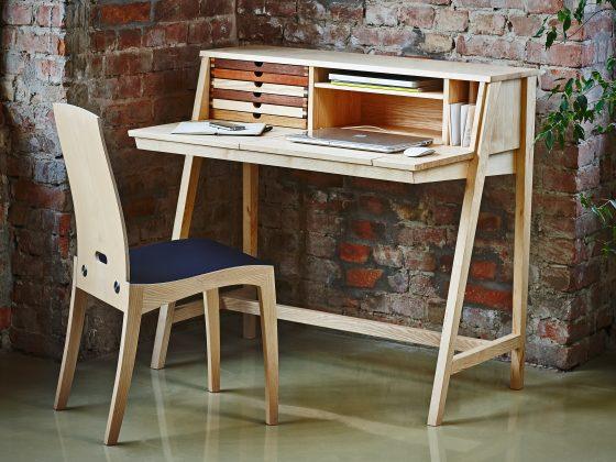 Skrivebord som kan alt