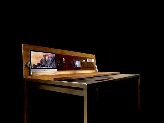 3 skrivebord som kan alt