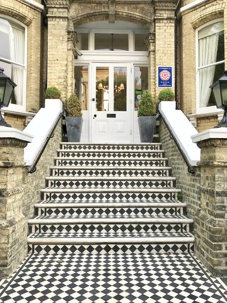 Treppe in Hove Brighton