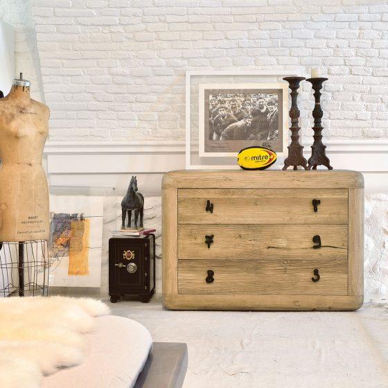 Kommode tre bærekraftige møbler
