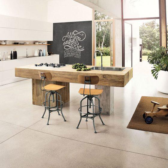 Kjøkken treverk bærekraftige møbler bærekraftig interiør miljøvennlig
