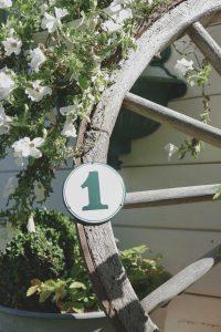 Türschild Hausschild Landhausgarten
