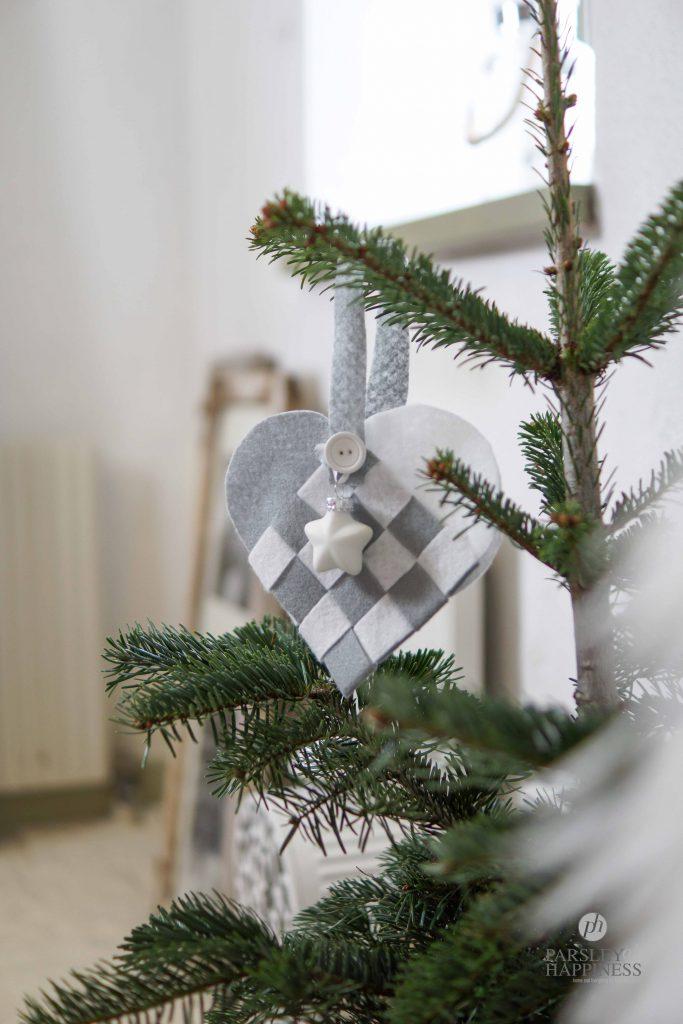 hjemmelaget julekurv i juletre