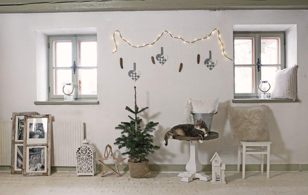 Norwegische Weihnachtskörbe in Filze