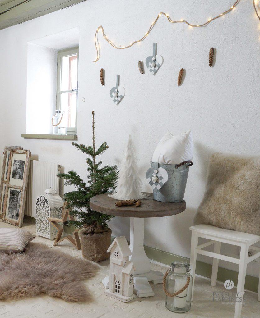 Norske Julekurver i filt