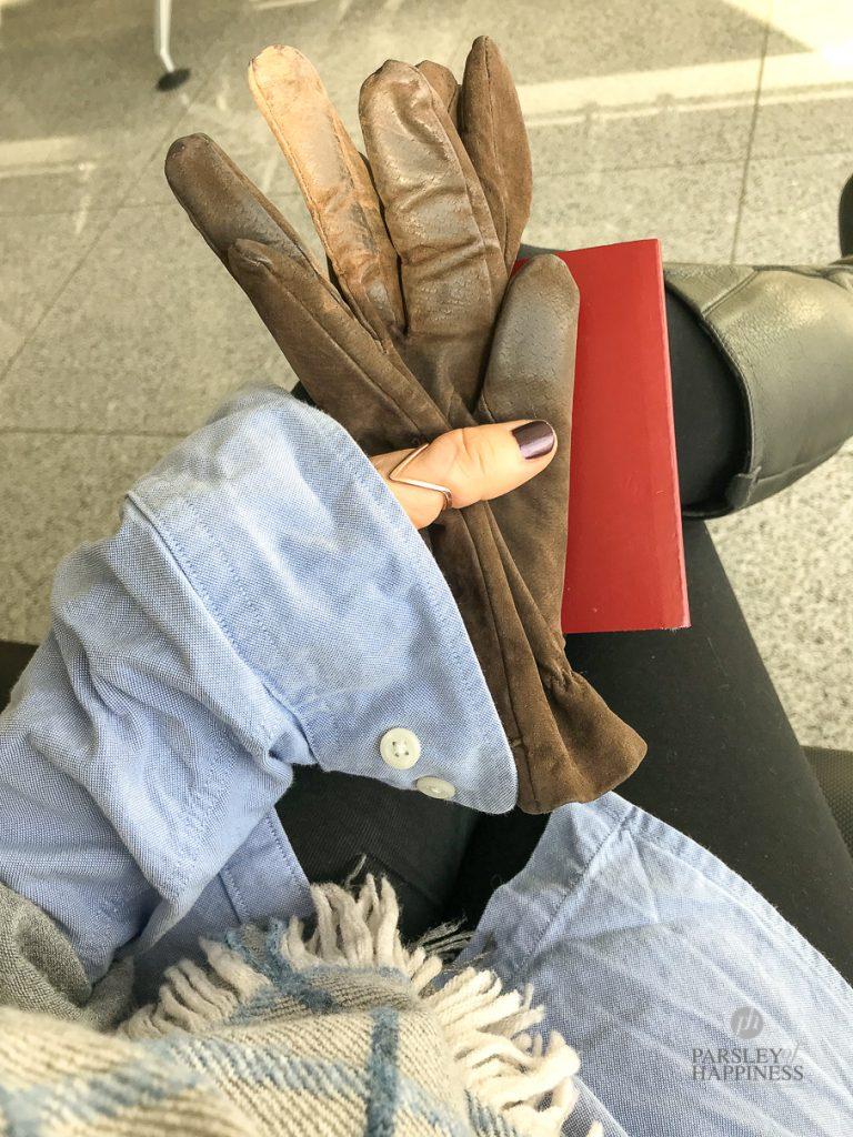 På flyplassen
