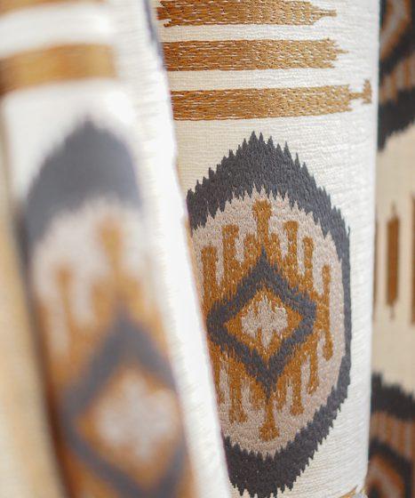 Boho-Chic Muster Textil Stoffe Interior design