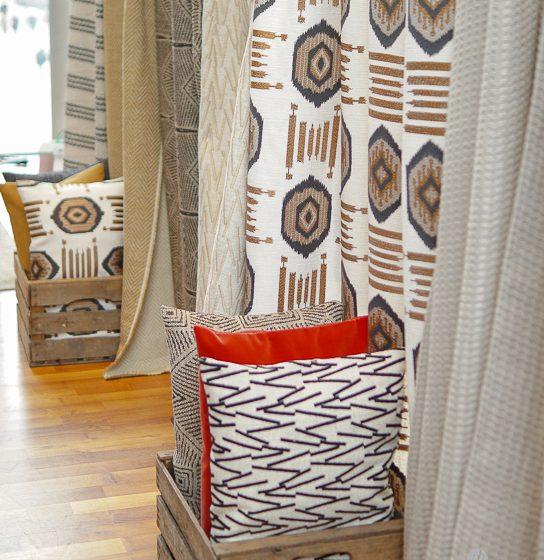 Boho Mønster Stoffer interiør textil interior design
