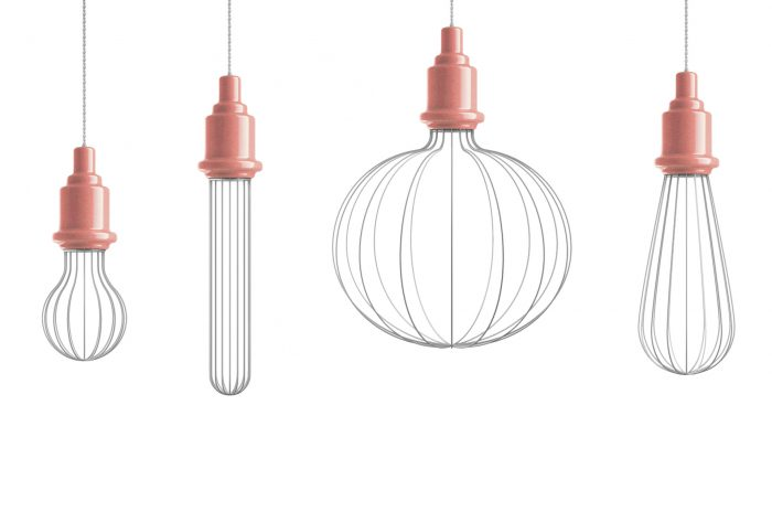 Edison lampe fra Marioni i korall