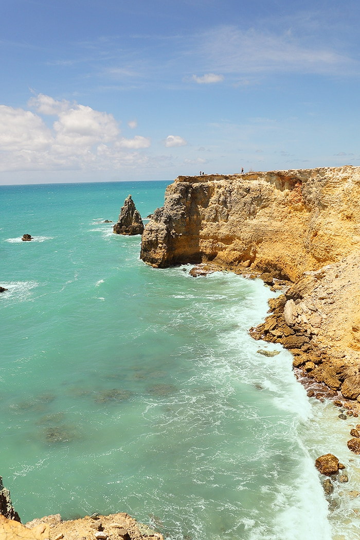 Cabo Rojo utsikt over havet