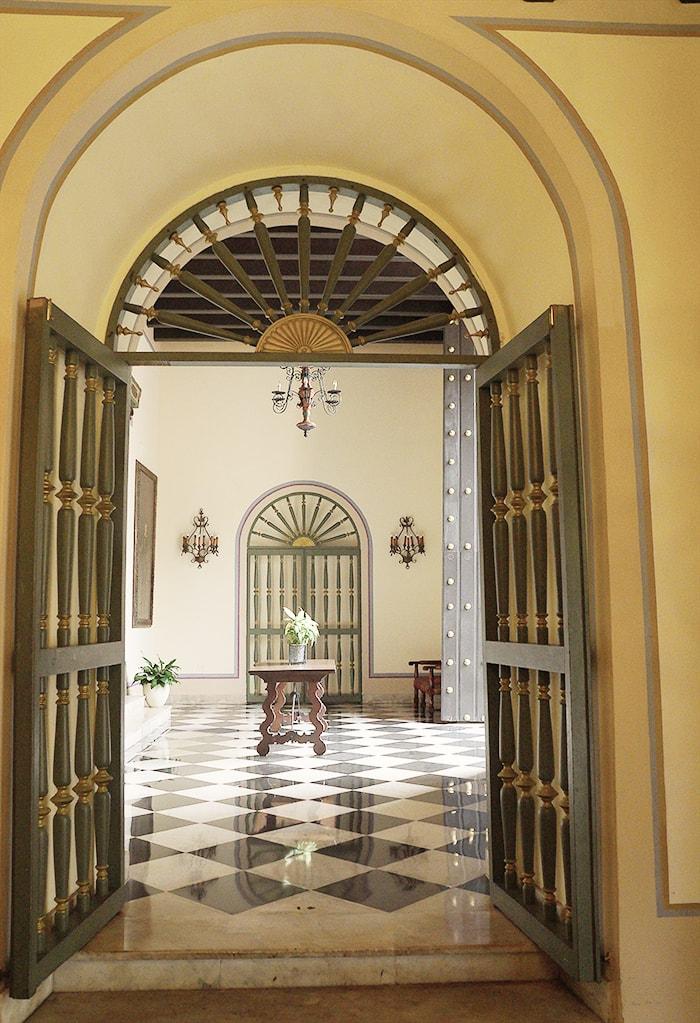 El Convento Tiles colonial style
