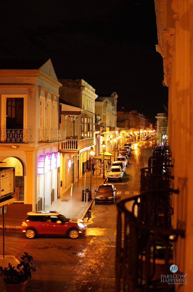 Ponte by night