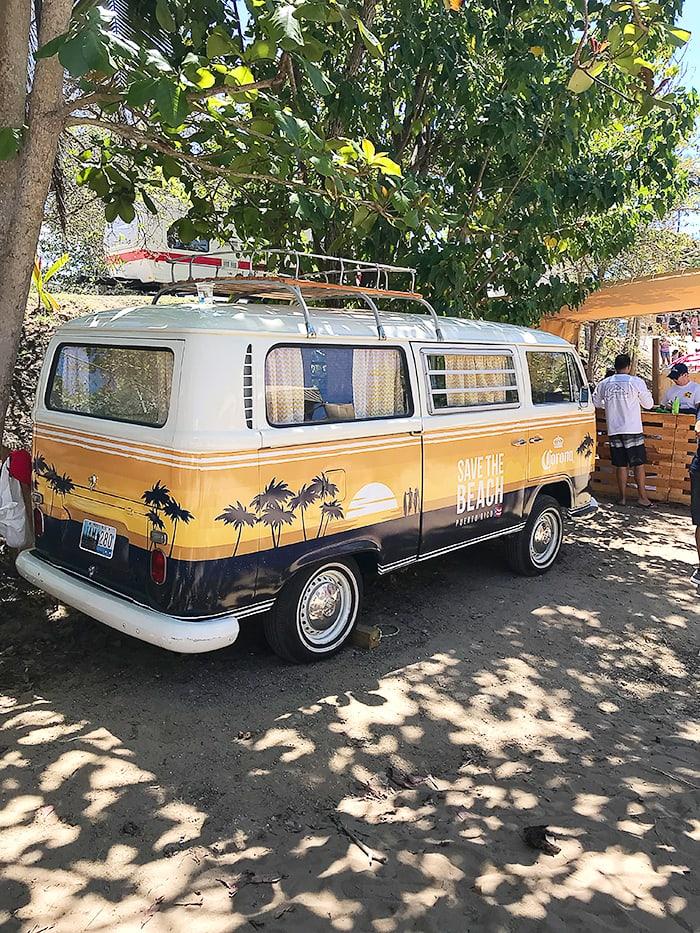 Life is good at the beach - camper van