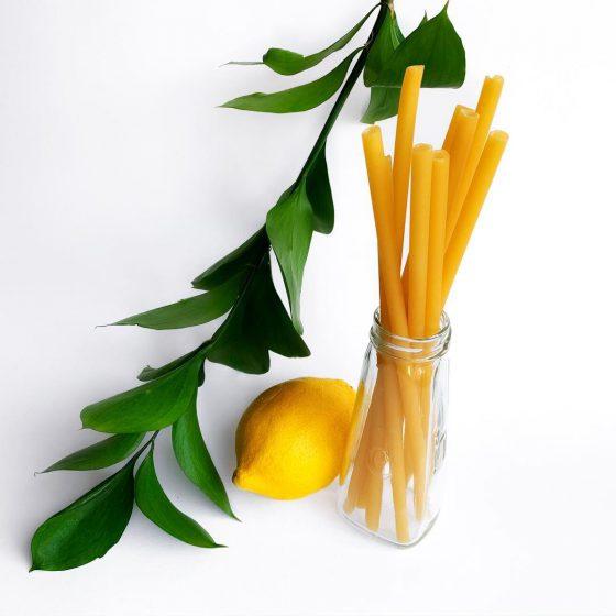 Sugerør av pasta