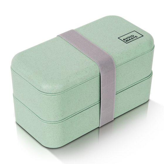 Mintgrønn bentobox til matpakken