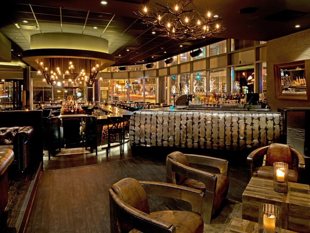 Siena Tavern Chicago industriell stil interiør