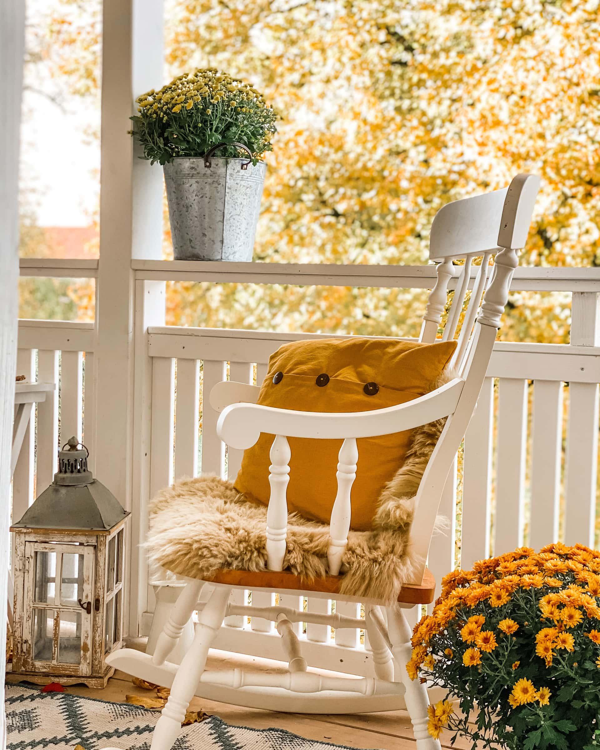 Herbst Balkon Deko Høstdekor