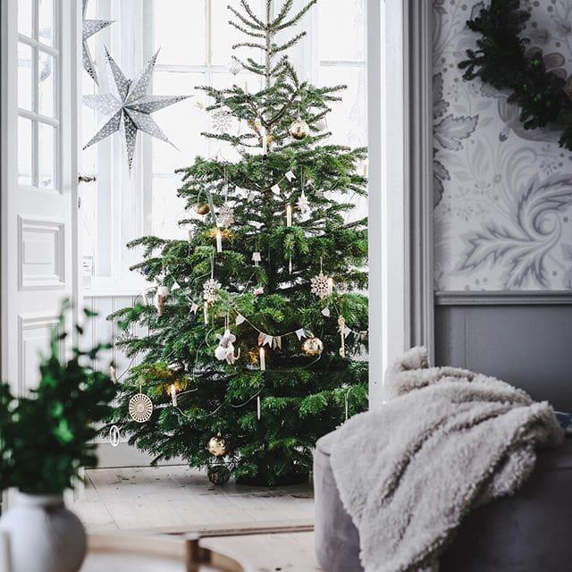 Scandinavischer Weihnachtsbaum