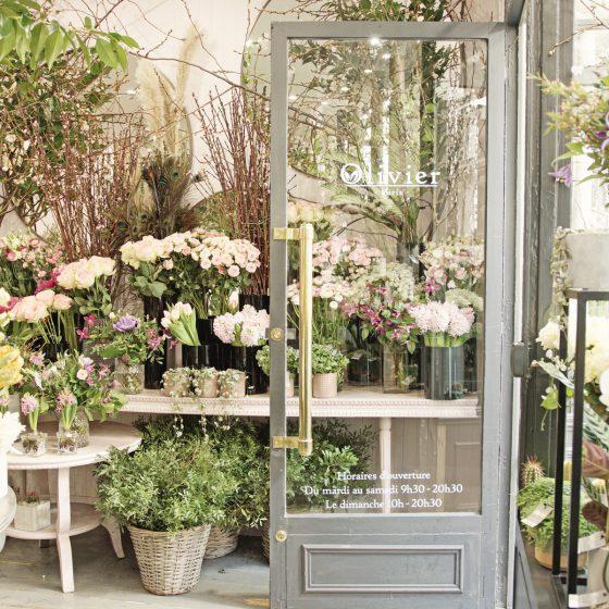 Blomsterbutikk i Paris