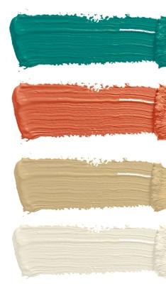 Diese Farbpalette erlaubt auch andere Farben im Zimmer