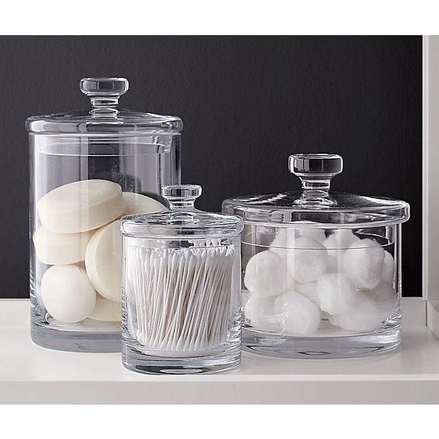 Seife in Glassbehälter