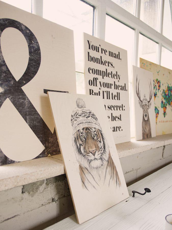 Bilder von Posterlounge aufhängen
