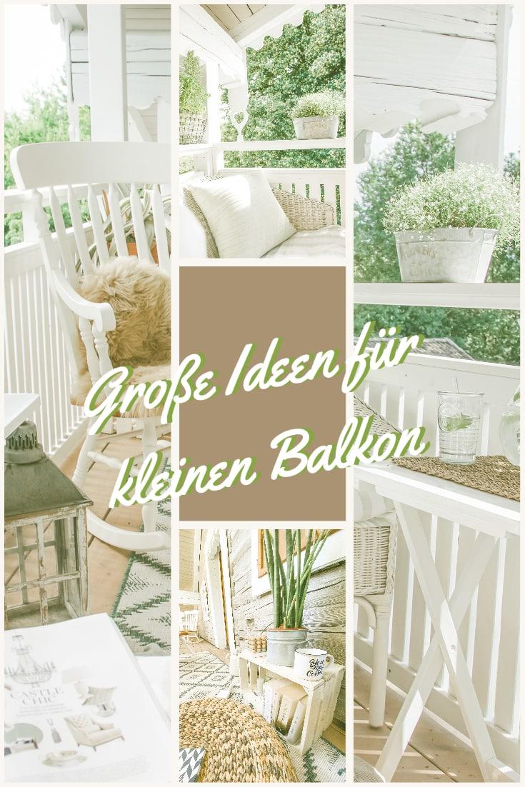 Ideen für kleinen Balkon