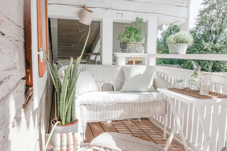 Kleiner Balkon, großer Freude