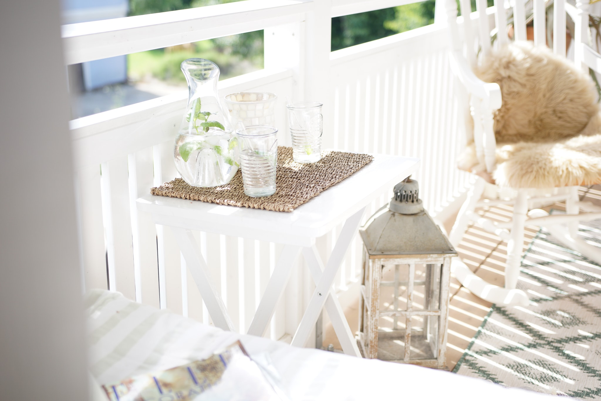 Kleinen Balkon