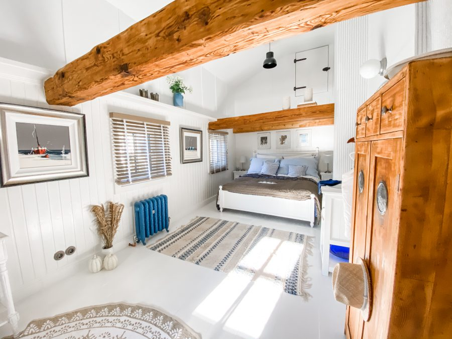 maritimes Deko, coastal, vorher-Nachher, Schlafzimmer