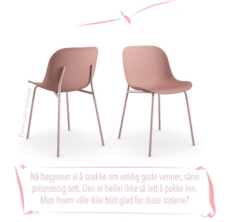 rosa stoler valentinsdag