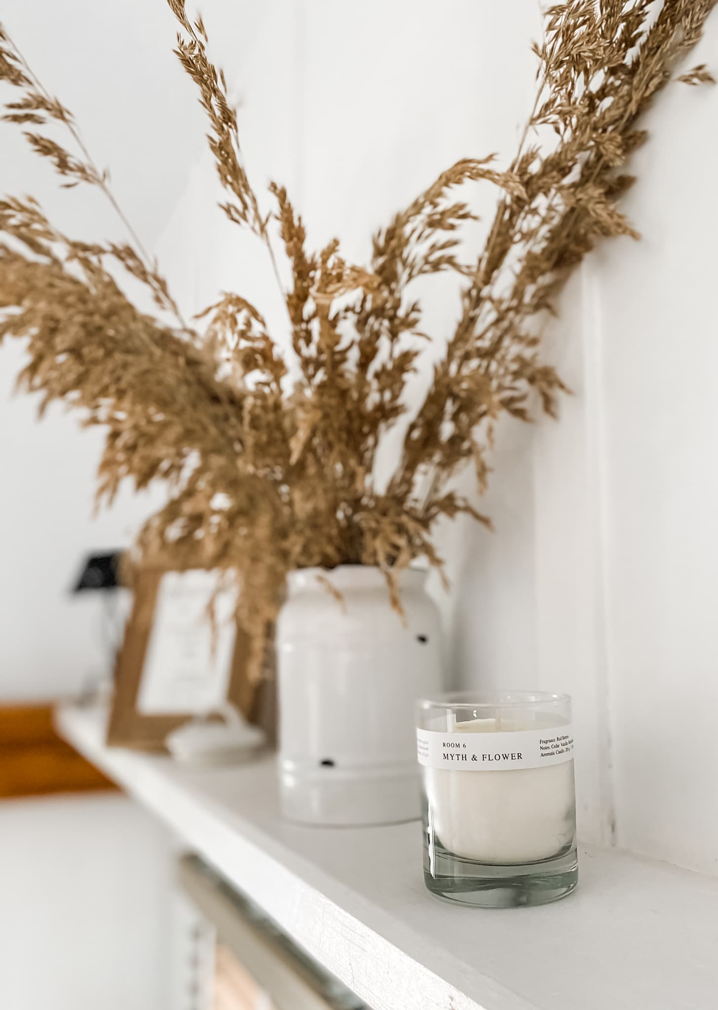 Duftelys og strå fra Zara Home