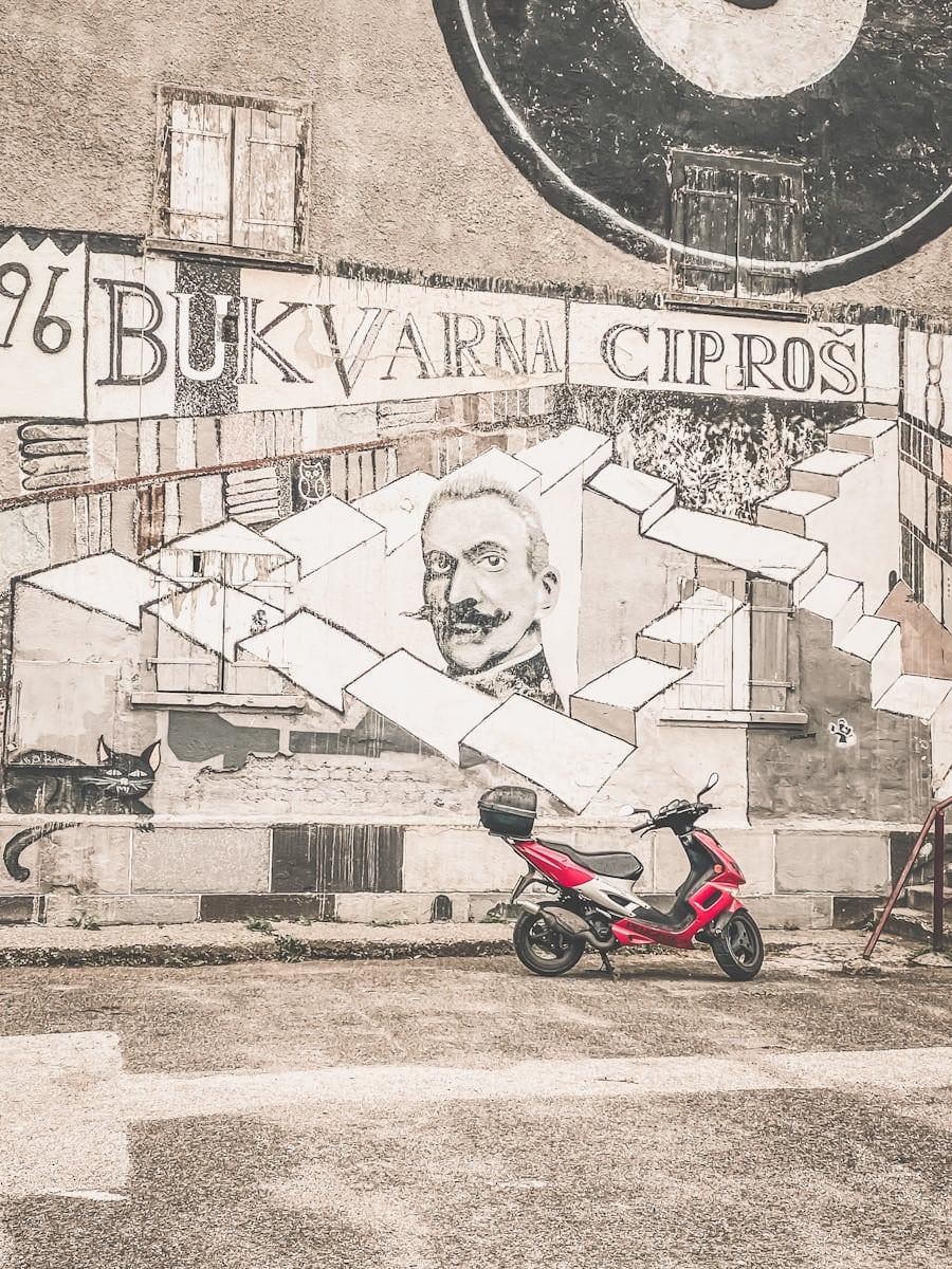 Street-Art in Maribor, Slovenia