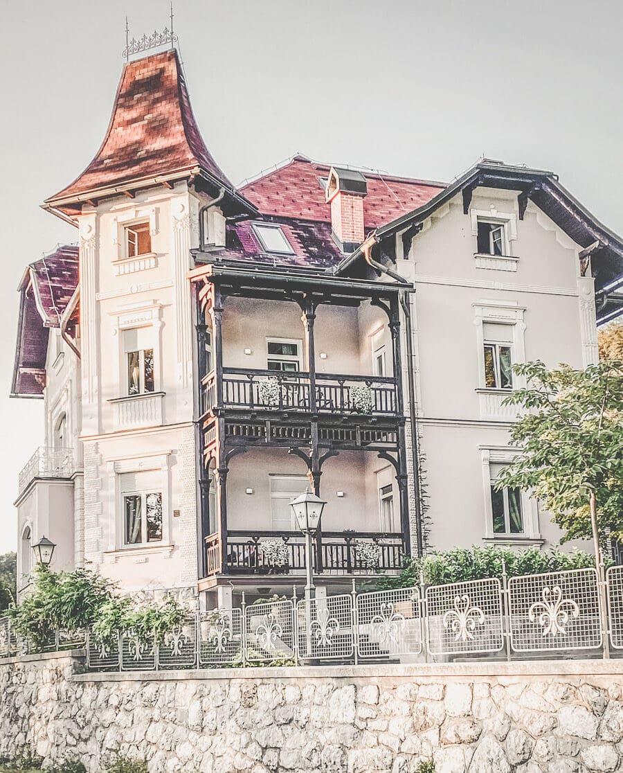 Villa Adora Bled Reise Slovenia