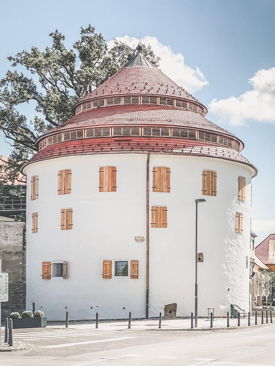 gamlebyen in Maribor arkitektur