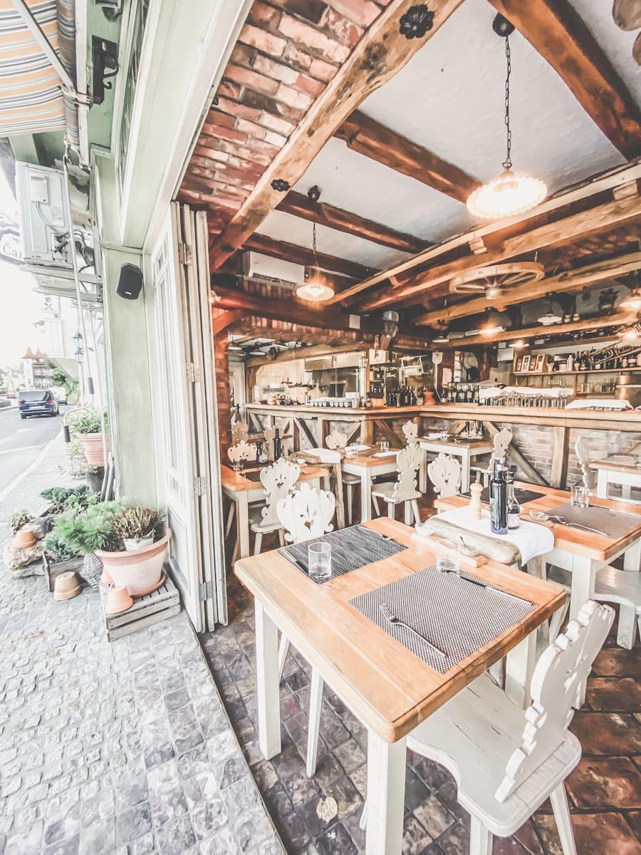 Interiør Restauranten Sova Bled