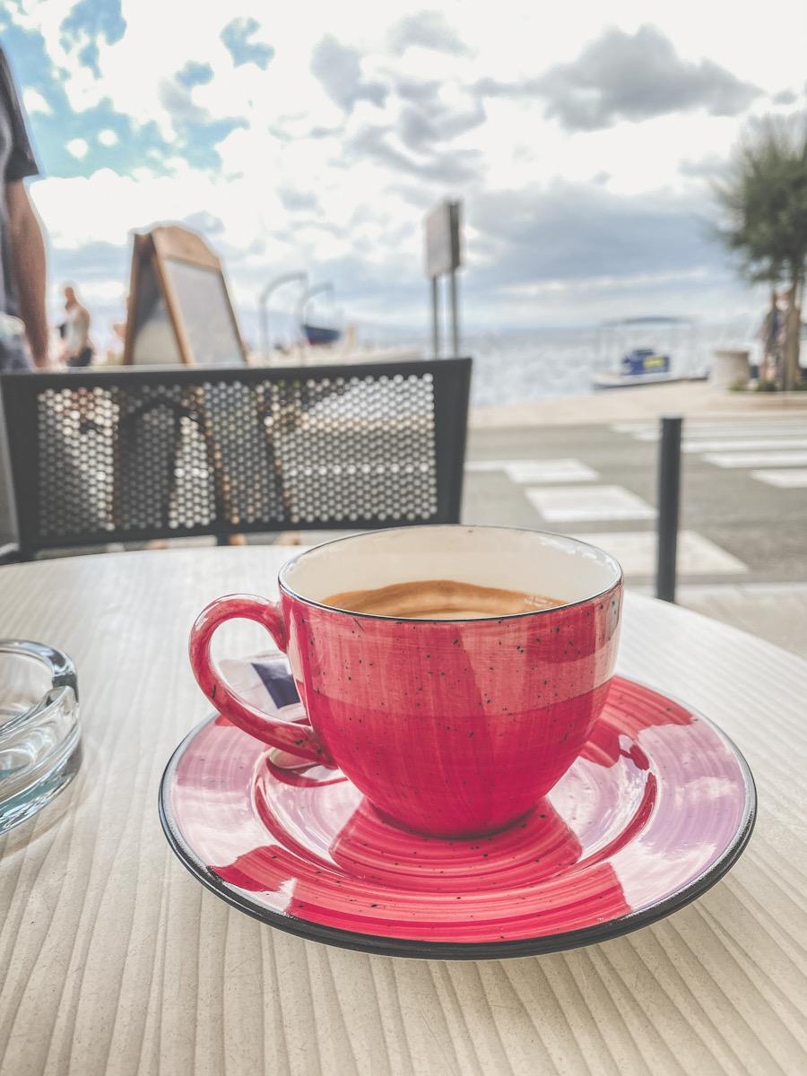 Kaffepause Kroatia Senj