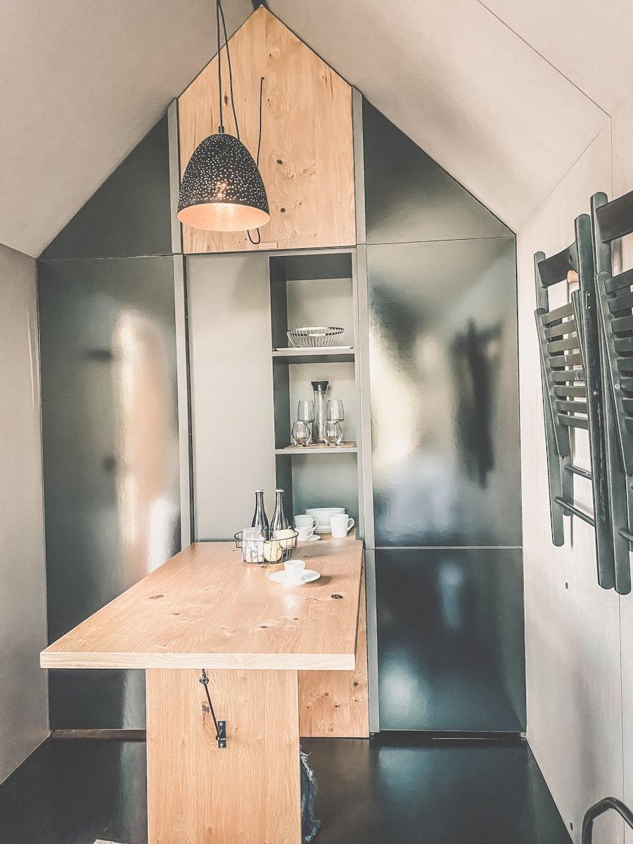 camping hytte interiør trendy