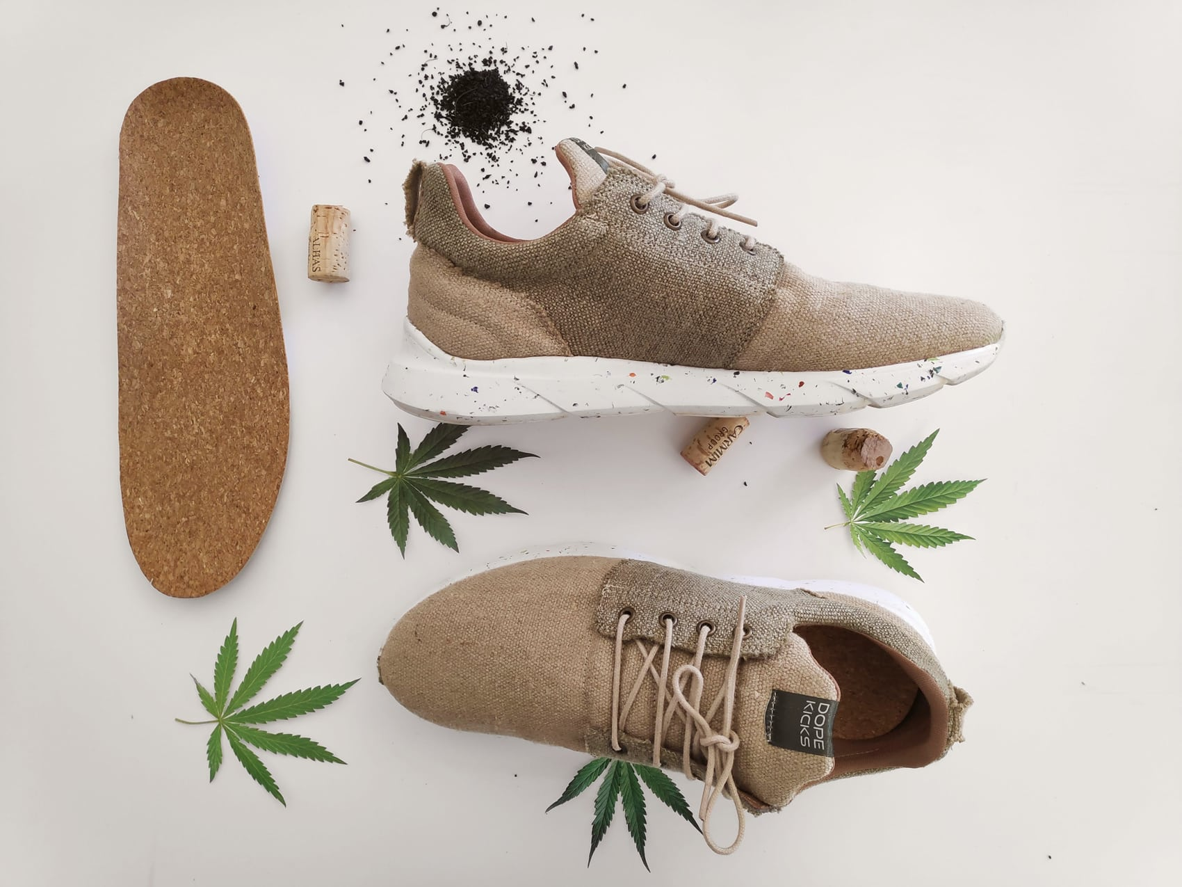 Schuhe aus Hanf