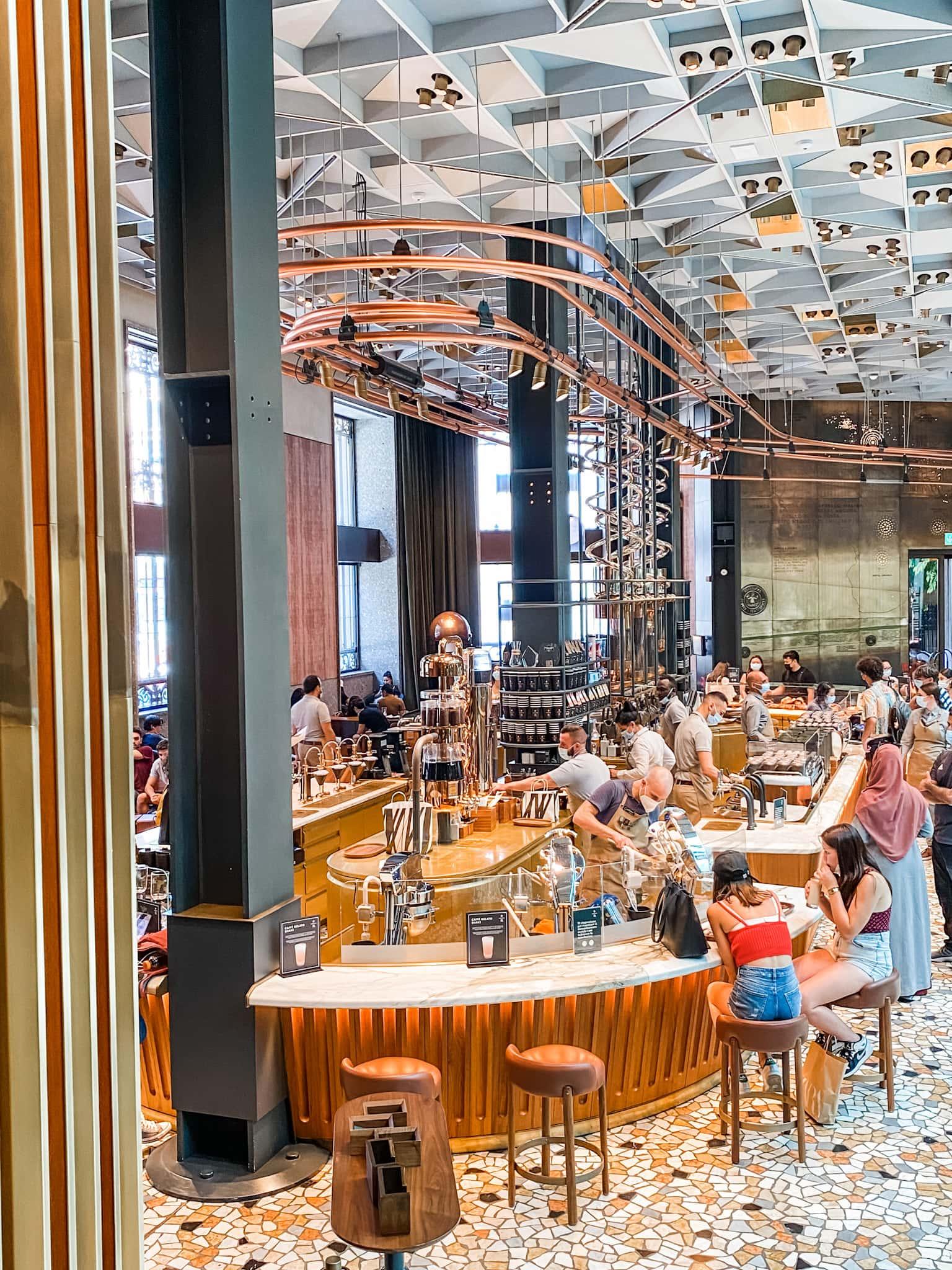 Starbucks Reserve in Milan Milano