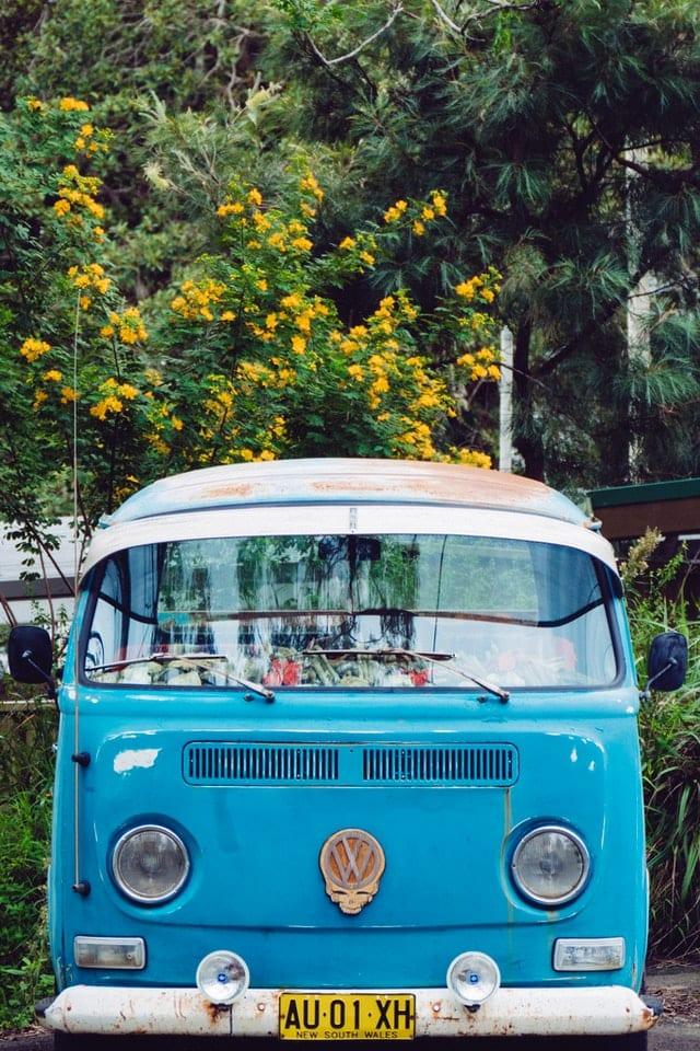 VW Buss hippie boho